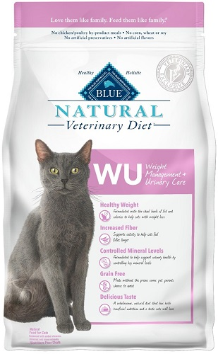Natural Veterinary Diet Feline Adult - Wu (Weight Management & Urinary Care) W/