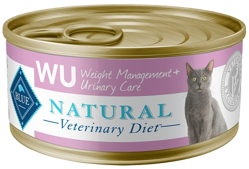 Blue Natural Veterinary Diet Feline Adult - Wu (Weight Management & Urinary Care