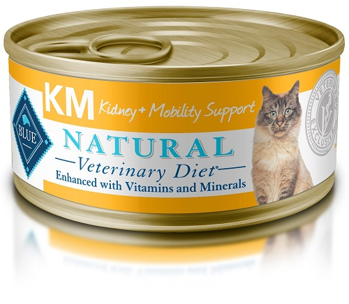 Natural Veterinary Diet Feline Adult - Km (Kidney + Mobility Support) W/ Chicken