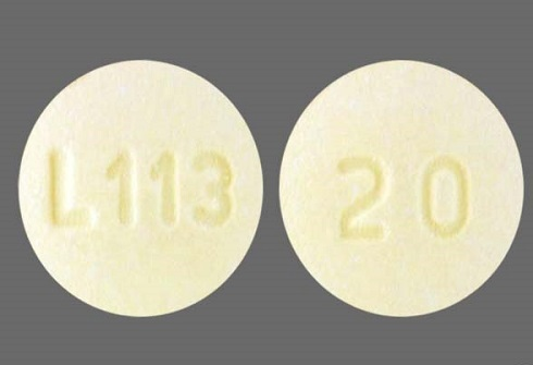 Famotidine Tabs 20mg B100 By Bluepoint Labs