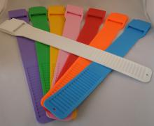Leg Bands Multi-Loc - Pink Each By Bock's Id Company