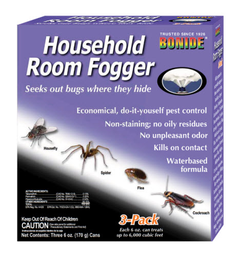 House Room Fogger 3Pack 6 oz By Bonide Products