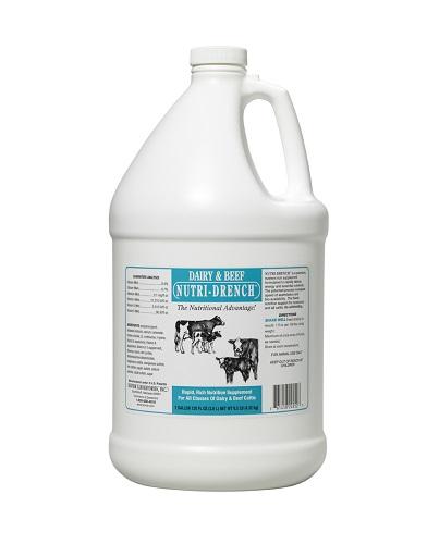 Nutri-Drench Dairy & Beef Gal By Bovidrx Laboratories