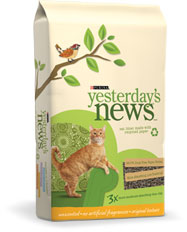 Cat Litter Yesterday's News 6 X5# Bags Bale6 By Canbrands