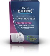 First Check Urine Drug Test Kit Kit By First Check Diagnostics LLC