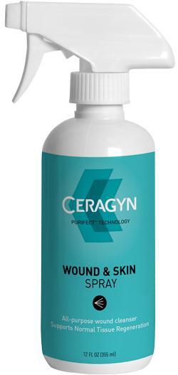Ceragyn Wound & Skin Spray 12 oz By Ceragyn