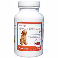 Derma-3 Twist Caps (Large Breeds) Private Labeling Non-Returnable (Sold As 6