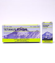 Tetanus Toxoid Concentrated 10Ds By Colorado Serum