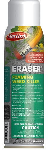 Eraser Foaming Weed Killer Aerosol 19 oz By Control Solutions