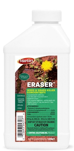 Eraser Weed And Grass Killer Concentrate Pt By Control Solutions