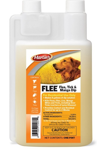 Flee Flea Tick & Mange Dip Pt By Control Solutions