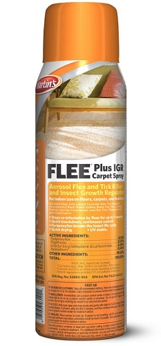 Flee Plus Igr Carpet Spray Pt By Control Solutions