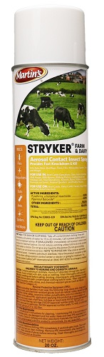 Martin's Stryker Farm & Dairy Aerosol Contact Insect Spray 20 oz By Control Solu