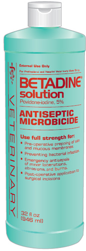 Betadine Solution 32 oz By Creative Science LLC