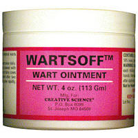 Warts Off Ointment 4 oz By Creative Science LLC