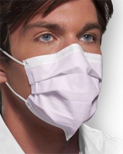 Mask Surgical Isofluid Earloop W/ Securefit Technology - Pink B50 By Crosstex In