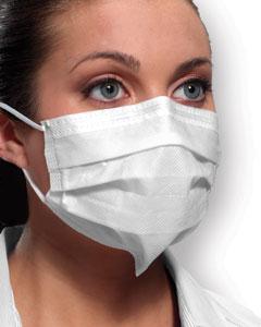 Mask Ultra Sensitive Fog Free Earloop White Level 3 B40 By Crosstex Internationa