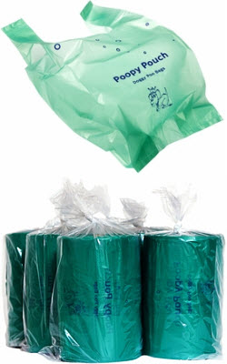 Poopy Pouch Replacement Waste Bags (400 Bags Per Roll) Roll By Crown Products Ll