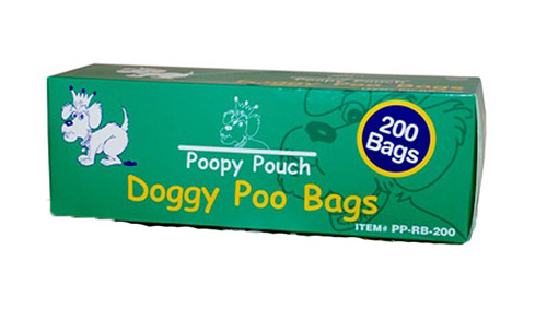 Poopy Pouch Universal Bags - (200 Per Roll) Roll By Crown Products LLC