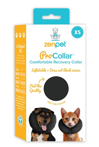 Elizabethan Procollar Inflatable XSmall [Up To 6] Each By Cs Tech Us