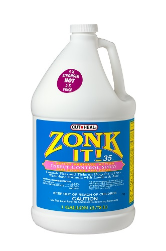 Zonk It 35 Protects Against Flies Mosq Gnats No Secondary Shipments Gal By
