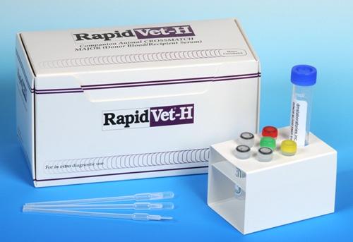 Rapidvet H Crossmatch Kit - Major Non-Returnable Fruit Chgs Apply B3 By D M S La