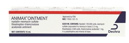 Animax Ointment Manufacturer Backorder - No Eta 15cc By Dechra Veterinary Prod