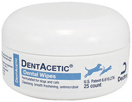 Dentacetic Wipes 2 Diameter B25 By Dechra Veterinary Products