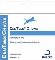 Dentees Dentacetic Dog Chews Bulk Pack 5Lb By Dechra Veterinary Products