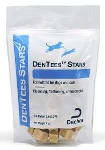 Dentees Dentacetic Stars 4 oz By Dechra Veterinary Products