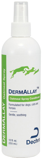 Dermallay Oatmeal Conditioner Spray 12 oz By Dechra Veterinary Products
