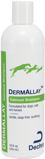 Dermallay Oatmeal Shampoo Gal By Dechra Veterinary Products