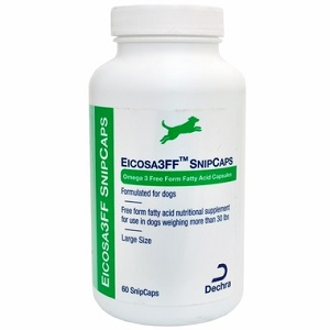 Eicosa 3Ff Snip Caps - Large Dogs [Over 30Lbs] B60 By Dechra Veterinary Products