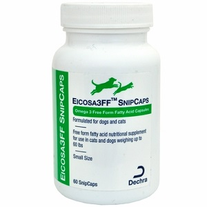 Eicosa 3Ff Snip Caps - Small Dogs & Cats [Under 60Lbs] B60 By Dechra Veterinary