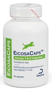Eicosacaps (Ofa Plus Ez-C Caps) 41 To 70# B60 By Dechra Veterinary Products