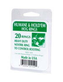 Ring Hog Humane #15 Bx20 By Decker Manufacturing Company