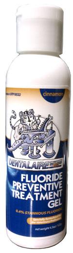 Fluoride Preventive Treatment Gel (Mint) 4.3 oz 4 oz By Dentalaire Item No.:Vet-OTC-MW 017642<Br><Br><Br>Manufacturer:Dentalaire<Br>MW SKU:017642<Br>Manf Code:Dtp10526<Br>Rx:No<Br>Human Label:No