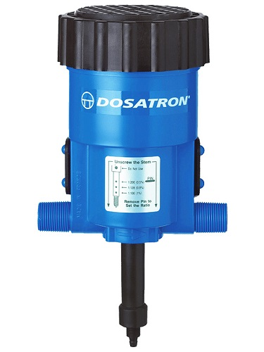 Dosatron D128R Medicator - Flat Top Injector (0.09-7Gpm) Each By Dosatron Intern
