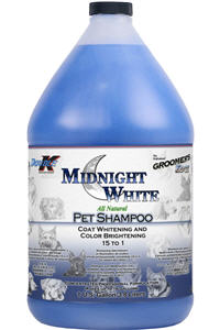 Groomer's Edge Midnight White [Whitening] Shampoo Gal By Double K
