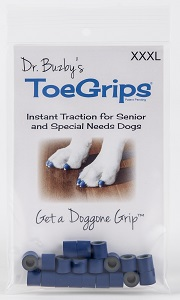 Toegrips Dr Buzbys Blue - XXxlarge (33Mm>) P20 By Dr. Buzby