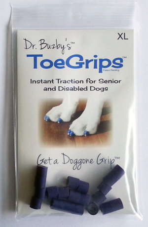 Toegrips Dr Buzbys Purple - XLarge (24-27Mm) P20 By Dr. Buzby