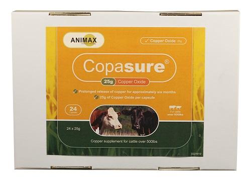 Copasure For Cattle 25Gr 24 Count Each By Durvet