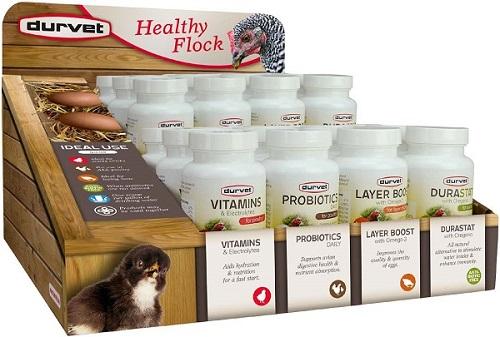 Healthy Flock Poultry Display Displ By Durvet