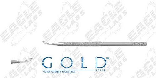 Phaco Slit Knives With Full Handle 3.0mm Straight B6 By Eagle Laboratories