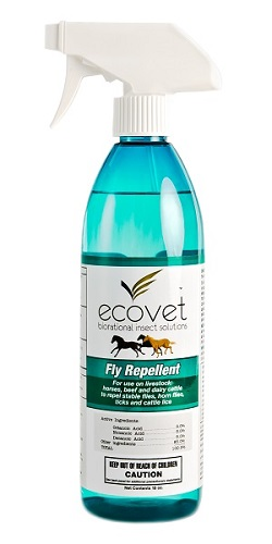 Ecovet Fly Repellent Spray 18 oz By Ecovet
