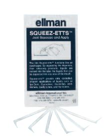 Squeez-Etts Liquid Dispenser - - Empty Transparent Pipettes P100 By Ellman Inter