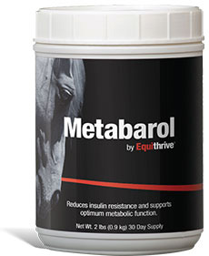 Metabarol 2 Lb Container (30 Day Supply) 2Lb By Equithrive