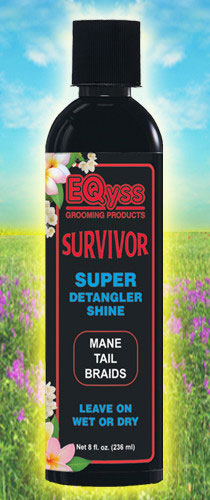Survivor Equine Detangle & Shine 8 oz By Eqyss