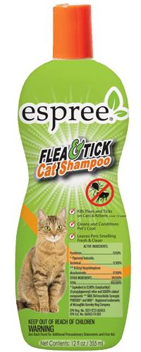 Flea & Tick Shampoo For Cats 12 oz By Espree Animal Products