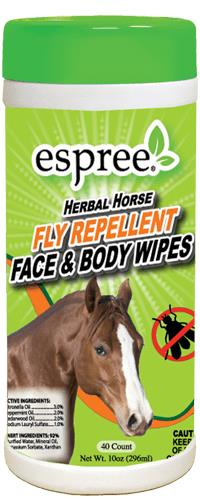 Fly Repellent Horse Wipes 40 Count Pack By Espree Animal Products